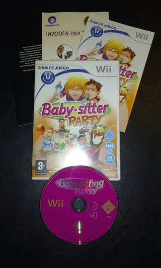 Videojuego WII Baby-sitter party