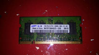 Memoria 1GB SoDimm DDR2.Para portatil