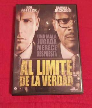 Dvd Al límite de la verdad