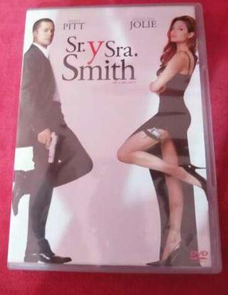 Dvd Sr y Sra Smith