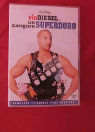 Dvd Un canguro super duro