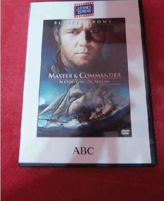 Dvd Master anda Comanders
