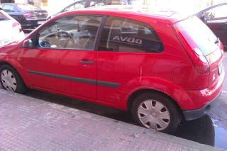 Ford fiesta coupe
