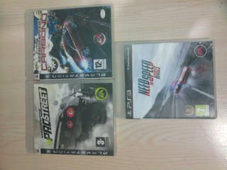 Pack de need for speed ps3
