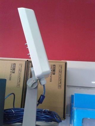 Super antena wifi interior exterior potente