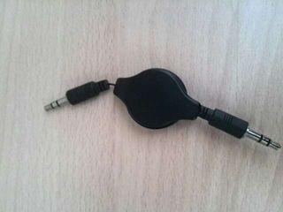Cable extensible de audio estereo