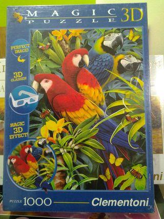 Puzzle loros 3d