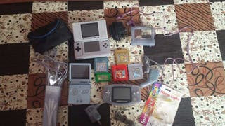 Consolas y juegos pokemon