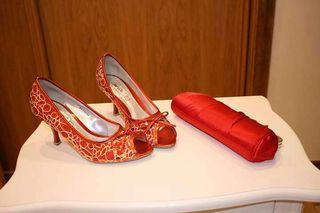 Zapatos +bolso fiesta