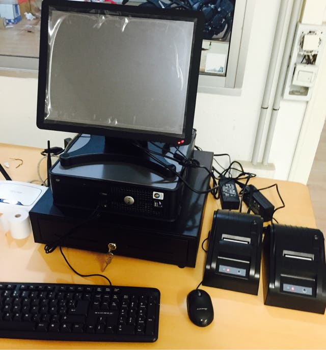Tpv Tactil Con Pda Y 2 Impresoras
