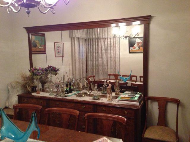 conjunto muebles comedor vintage de segunda mano por