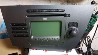 Radio cd mp3 original seat leon 2