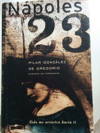 "Libro ""Nápoles 23"", autora Pilar González de Gregorio"