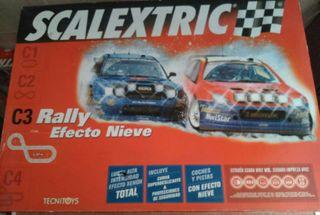 Scalextric Rally C3 Efecto Nieve