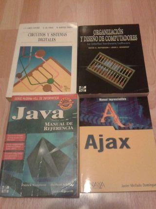 Libros para ingeniería informática, estado bueno