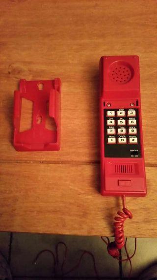 Teléfono antiguo, vintage