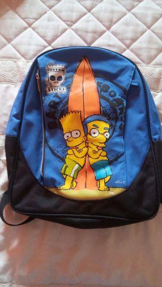 Mochila Bart Simpson
