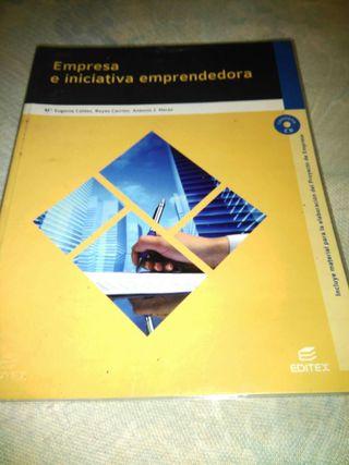 Libro de empresa e iniciativa emprendedora