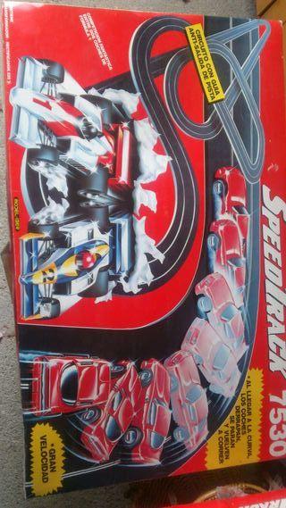 Scalextric speedtrack