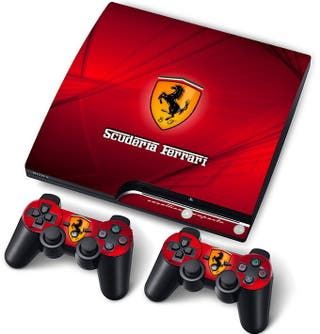 Vinilo Ps3 Slim Ferrari