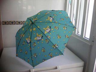 Paraguas del pato Donald