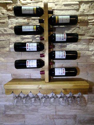 Botellero copero para vino