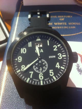 Reloj CIA Black