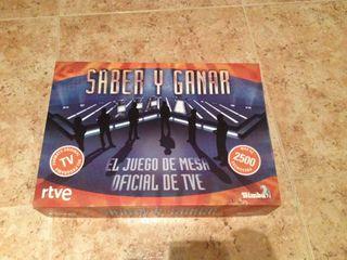 Juego Original Saber Y Ganar
