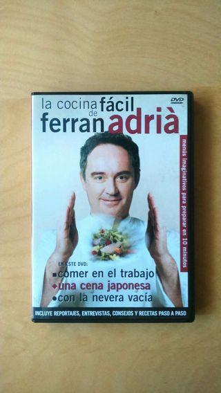 Dvd La Cocina fácil de Ferran Adrià