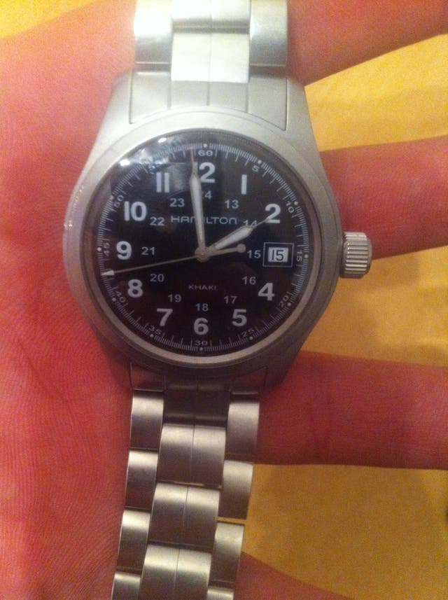 Hamilton Khaki Zafiro Watch