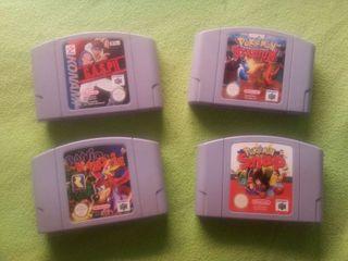 LOTE 2 JUEGOS Nintendo 64