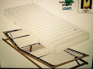 Somier Ortopedico de madera regulable a estrenar!