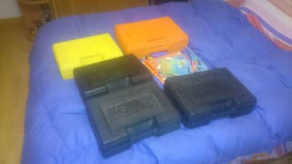 K-nex 5 maletines, vienen con mas piezas,en perfecto estado, y sus manuales