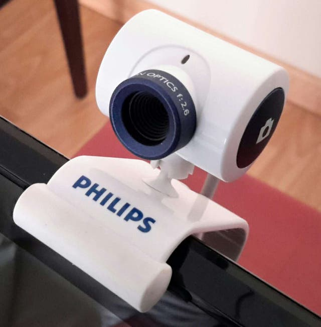 Webcam PHILIPS + Microfono