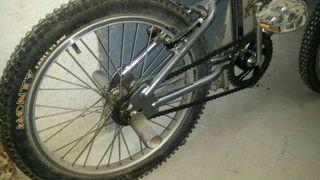Bicicleta monty aluminio