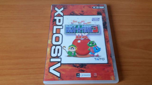 Juego Pc Bust A Move 3 Puzzle Tipo Tetris Ano 2001