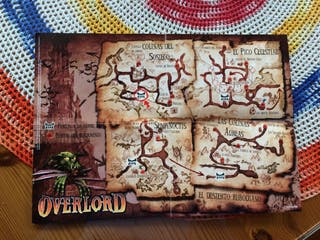 Póster/Mapa Overlord