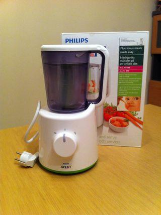 Robot cocina philips avent para bebes de segunda mano por - Robot de cocina philips ...
