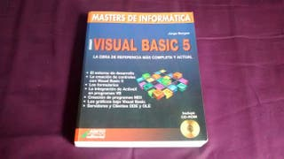 Libro visual básic 5. Editorial abeto. Con CD incluido