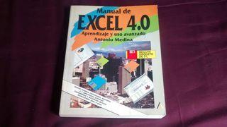 Libro manual Excel 4. Editorial Anaya