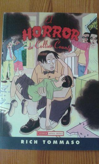 """Comic """"El Horror de Collier County""""de Rich Tomasso"""