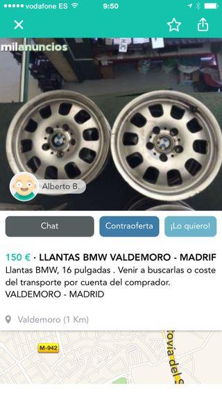 Llantas Bmw 16