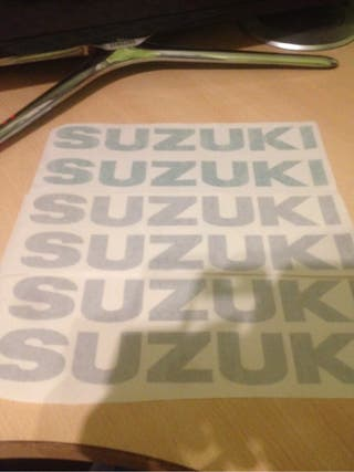 Adhesivos Suzuki Gsxr