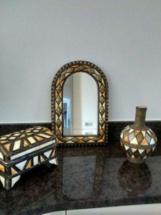 Stunning 3 piece Ornament Set