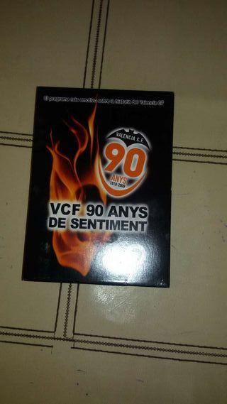 Dvd 90 años del valencia cf