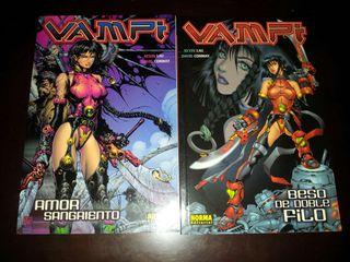 Pack Comics Vampi. Norma comics