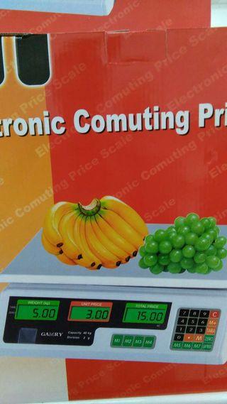 Bascula fruta portatil