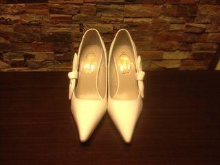 Zapatos Stilletos De Blanco