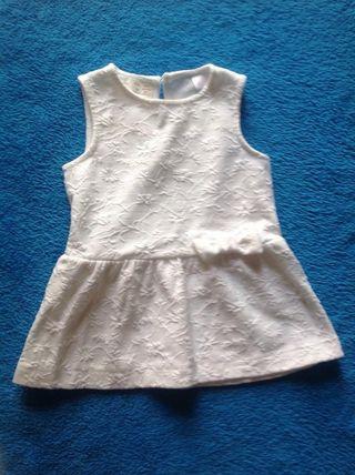 Vestido Zara 3-6 Meses