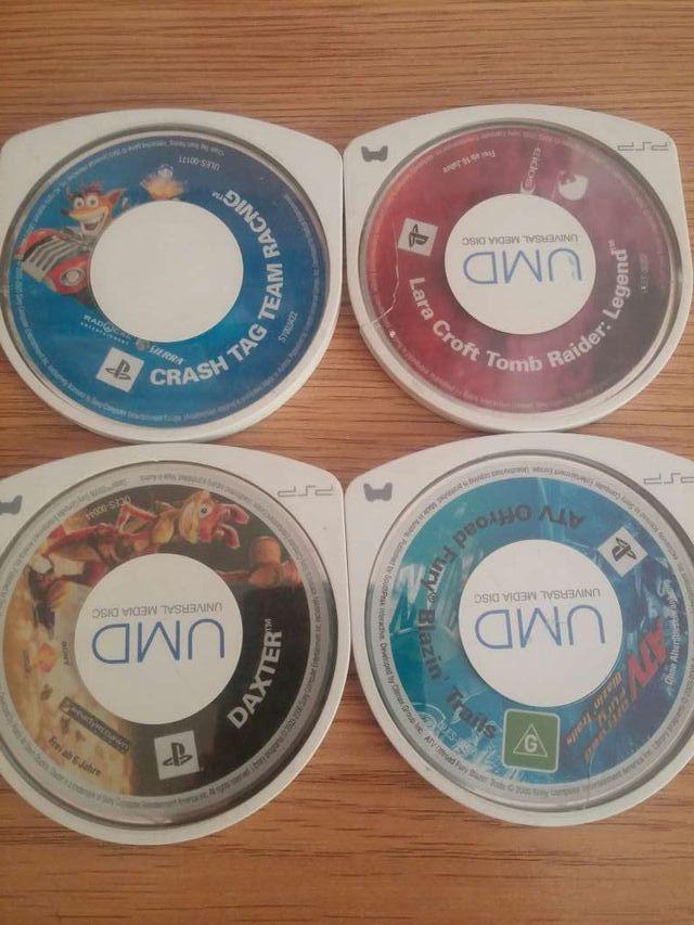 Juegos PSP sin caja